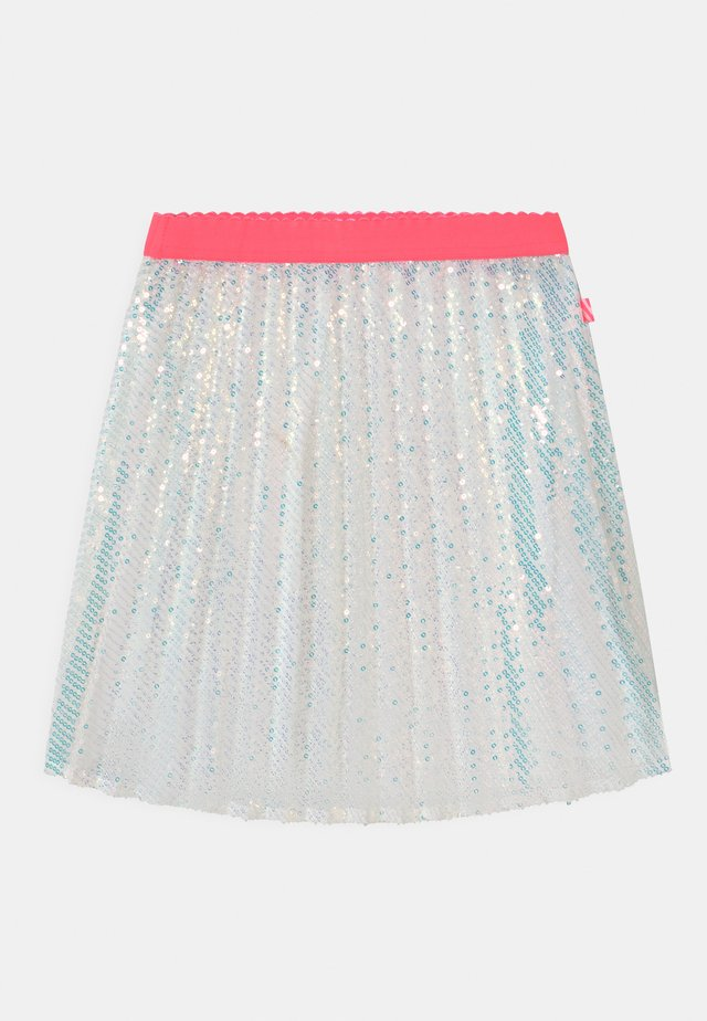 Pleated skirt - white