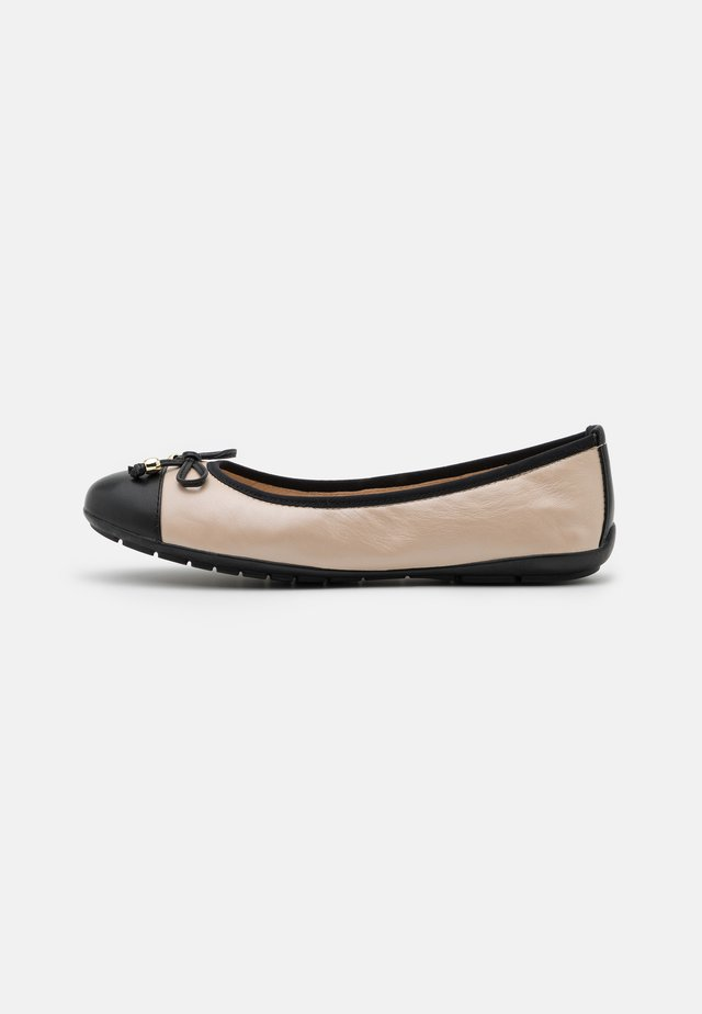 Ballerinasko - beige/black