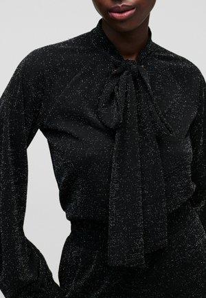 Jumper dress - 985 sparkle blk