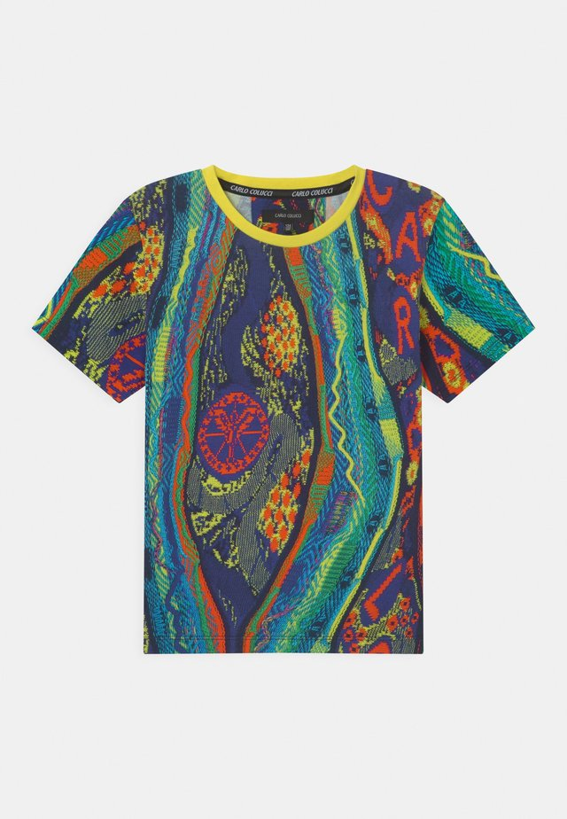 UNISEX - Print T-shirt - petrol