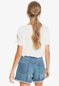Roxy - OCEANHOLIC  - Print T-shirt - snow white - 2