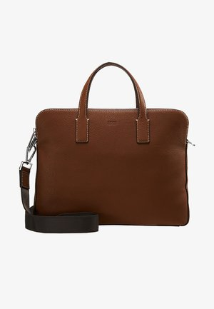 CROSSTOWN  ZIPS - Briefcase - light pastel brown