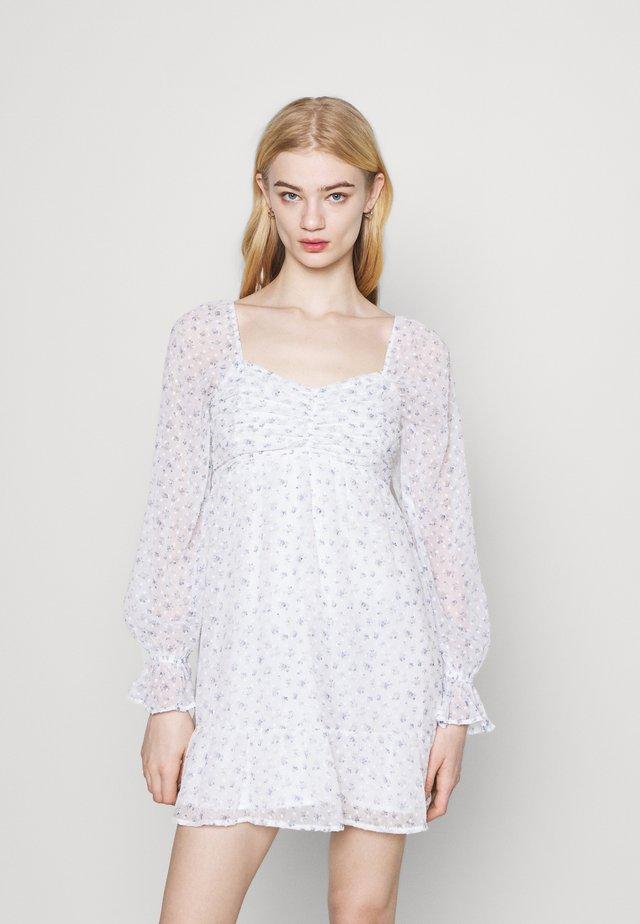 SHORT DRESS - Vestito estivo - white