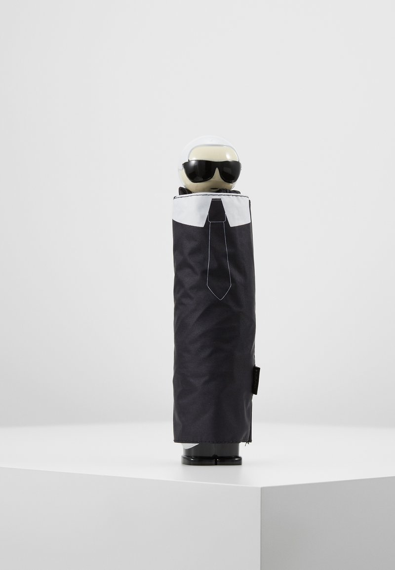 KARL LAGERFELD - IKONIK UMBRELLA - Schirm - black