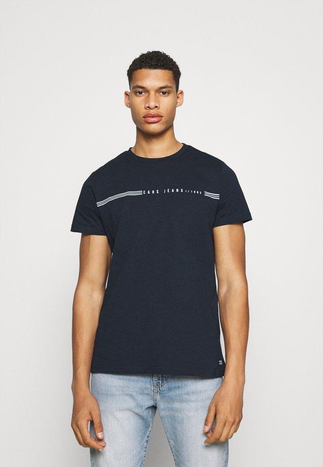 DARTH  - T-shirt med print - navy