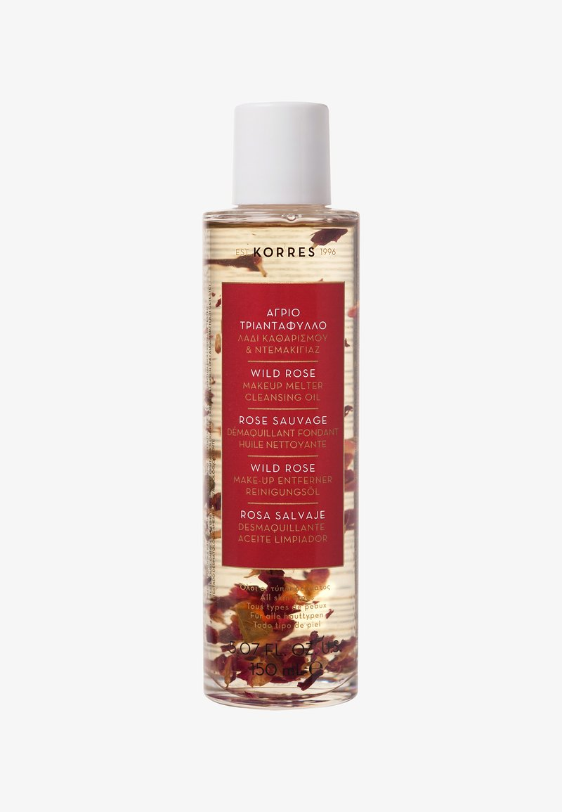 Korres - WILD ROSE CLEANSING OIL - Makeup remover - -