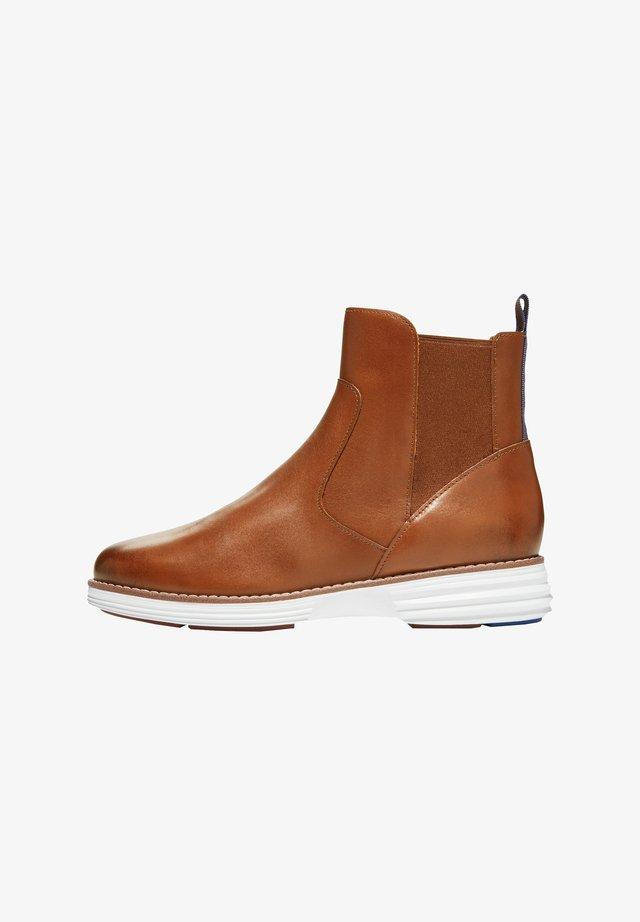 Korte laarzen - earthen leather