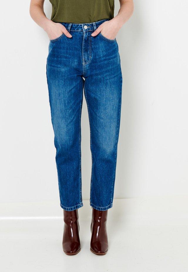 Jean droit - blue denim