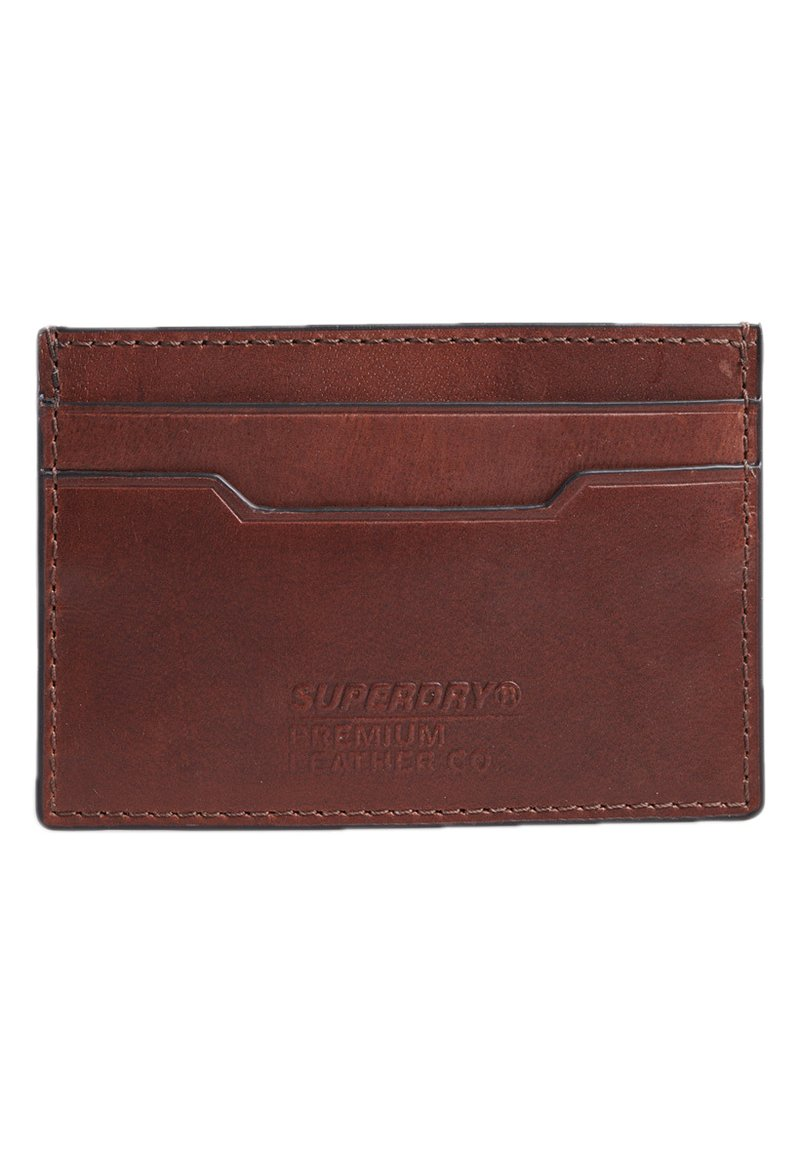 Superdry - Business card holder - tan