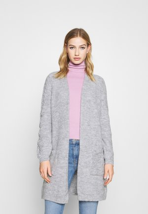 ONLPIL CARDIGAN  - Cardigan - light grey melange