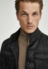 Massimo Dutti - Down jacket - black - 2