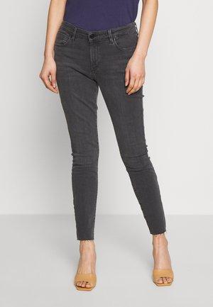 Skinny džíny - grey/ black