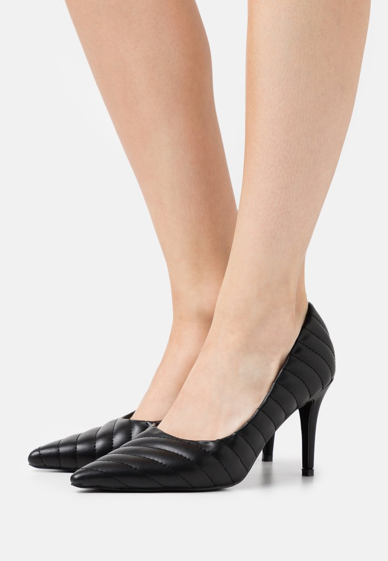 NA-KD - QUILTED POINTY  - High heels - black
