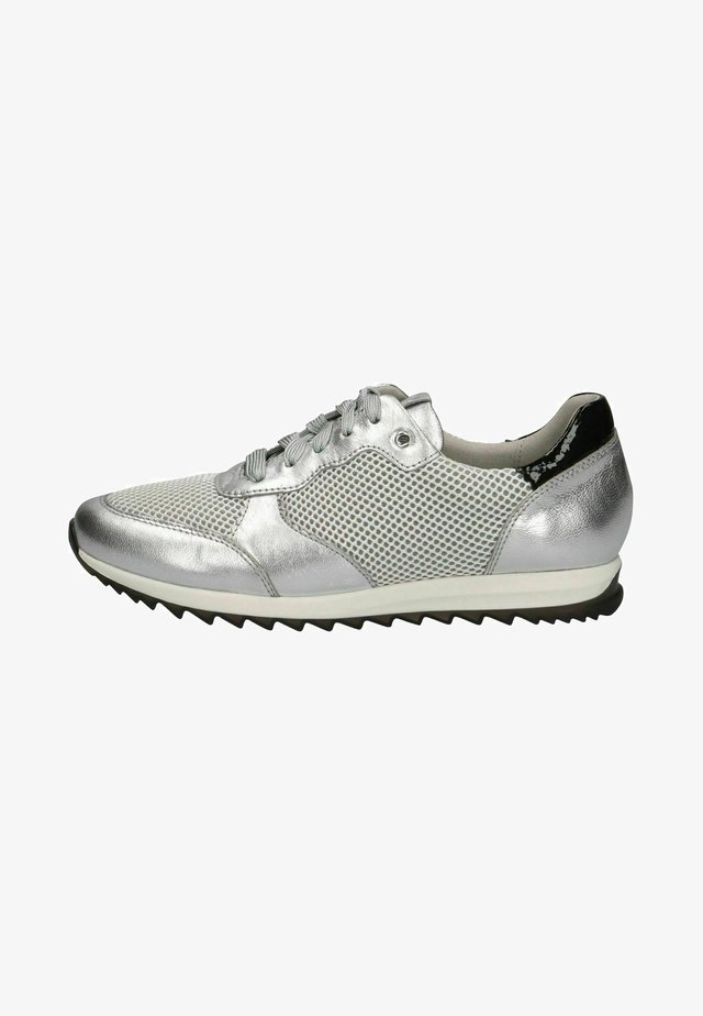 Sneakers laag - silver comb