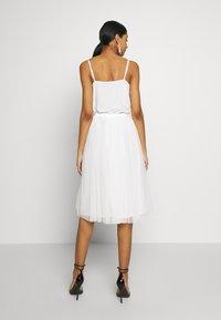 Lace & Beads - VAL SKIRT - A-line skjørt - white - 2