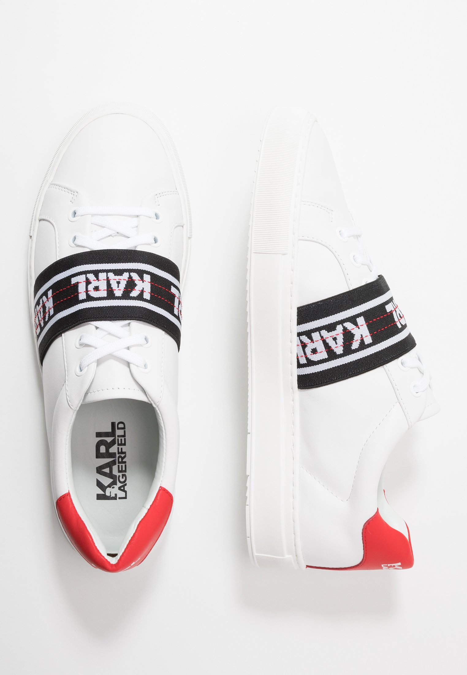 Karl Lagerfeld Kupsole Band Lace - Sneakers White