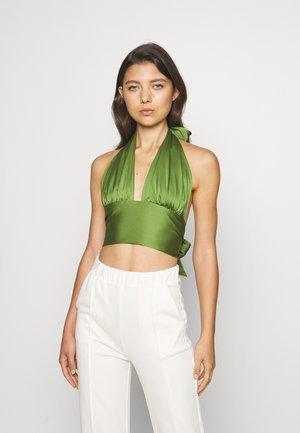 CINDY - Top - cedar green