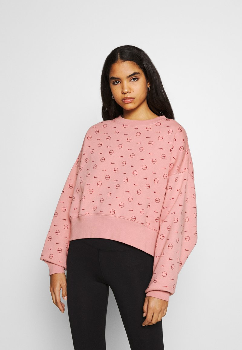 Nike Sportswear - CREW - Sweatshirt - rust pink/canyon rust