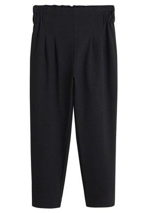 YESTER - Trousers - black