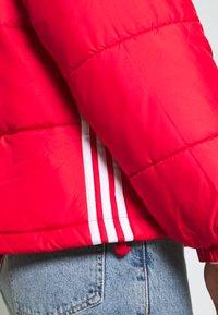 adidas Originals - PAD STAND PUFF - Winter jacket - scarlet - 4