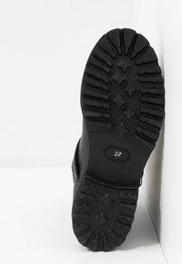 Blauer - IRVINE - Cowboy/biker ankle boot - black - 6