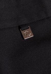 Lauren Ralph Lauren - SUITING  PANT - Trousers - black - 4