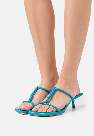 CLEO  - Heeled mules - blue