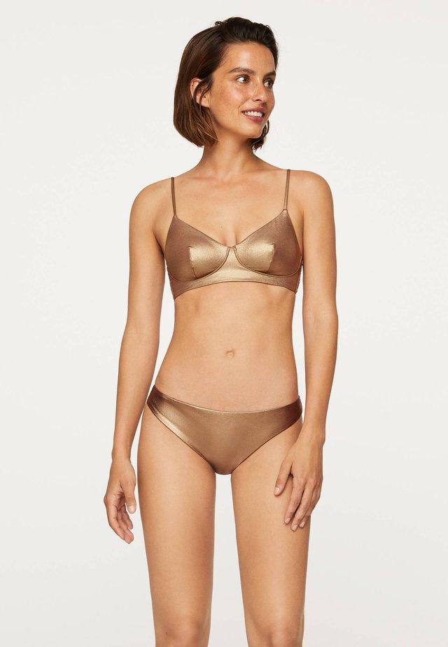 Bikini pezzo sopra - gold
