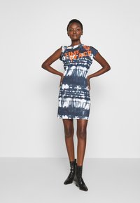 Vivienne Westwood Anglomania - HEBO DRESS TIME TO ACT - Day dress - black - 0