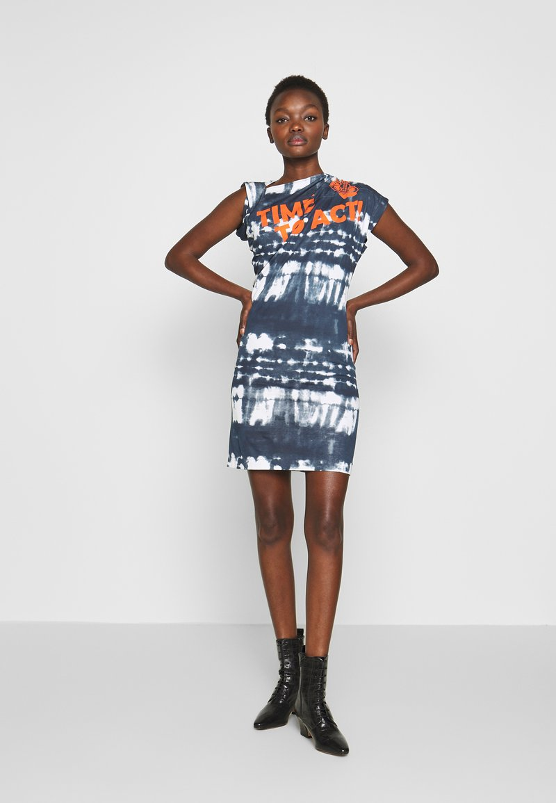 Vivienne Westwood Anglomania - HEBO DRESS TIME TO ACT - Day dress - black