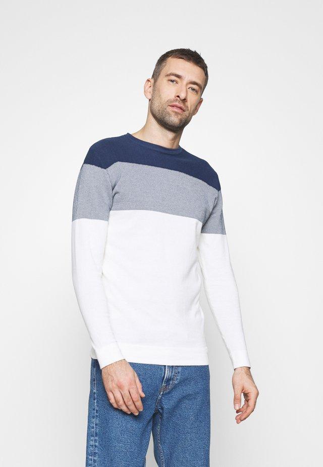 Pullover - petrol blue