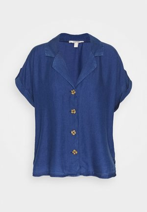 BLOUSE - Blůza - blue dark wash