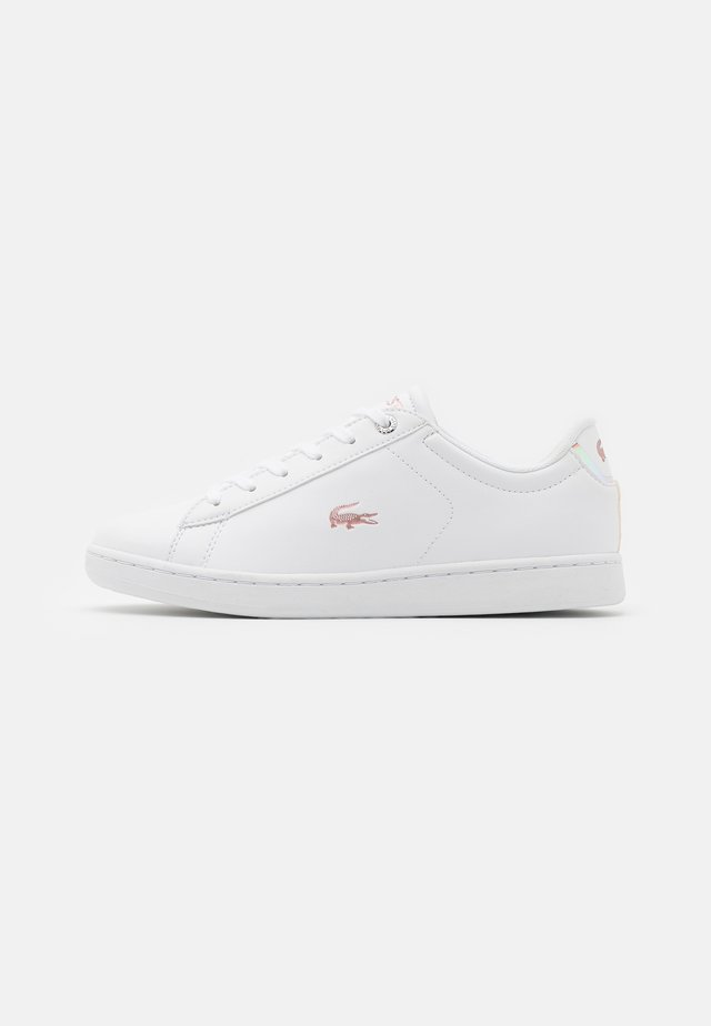 CARNABY - Sneakers laag - white/light pink