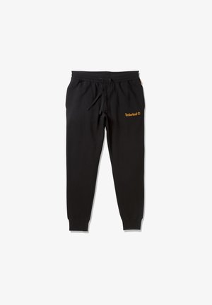ESTABLISHED 1973 - Pantaloni sportivi - black-wheat boot