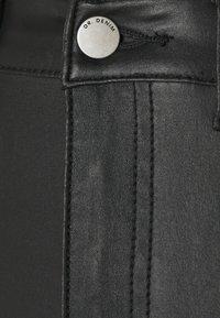 Dr.Denim Tall - MOXY - Flared Jeans - black metal - 2