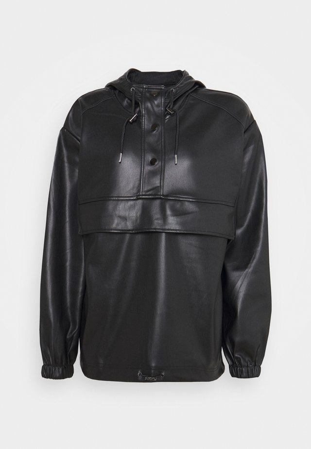 PULL OVER - Bomber Jacket - black