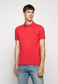 Polo Ralph Lauren - SLIM FIT MESH POLO SHIRT - Polo - evening post red - 0