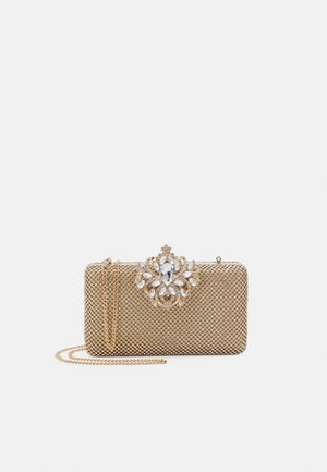LUCY ENCUSTED CLASP - Clutch - gold