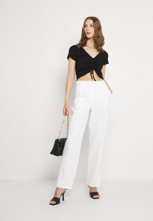 TONJA 2 PACK - Camiseta estampada - black + white
