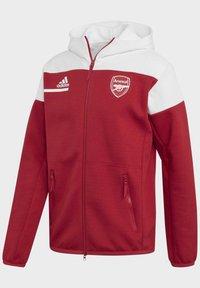 adidas Performance - Z.N.E. ARSENAL FC SPORTS FOOTBALL JACKET - Träningsjacka - actmar/white - 9