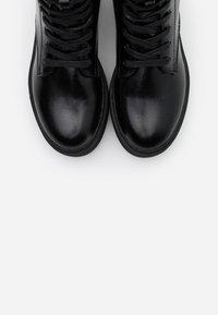 Even&Odd - Platåstøvletter - black - 5