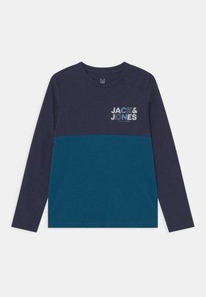 JCOSTEVE TEE CREW NECK JR - Long sleeved top - navy blazer