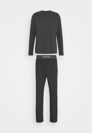 POCKET TEE ELASTICATED JOGGER - Pyjama set - grey