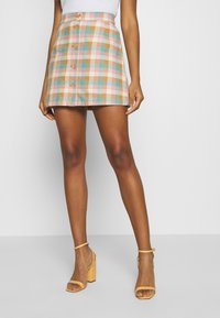Monki - RIO SKIRT - A-line skjørt - yellow - 2