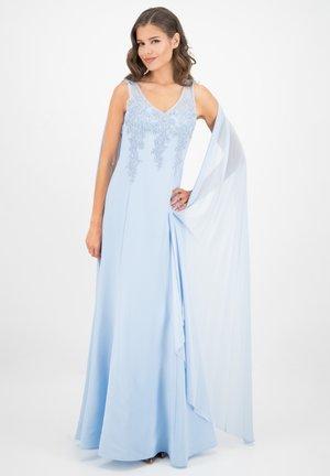 MIT CHIFFON  - Maxi dress - babyblau