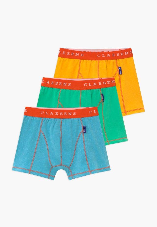 BOYS BOXER 3 PACK  - Boxerky - blue/green/orange