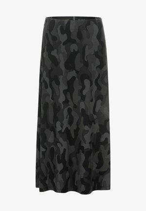ROCK  - A-line skirt - grau