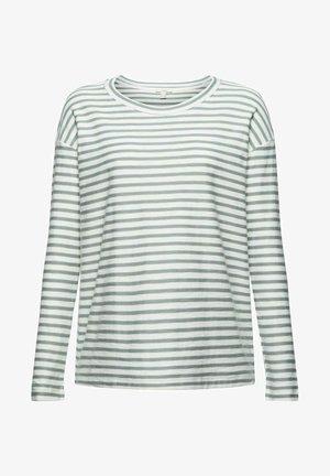 LONGSLEEVE - Long sleeved top - dusty green