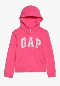 GAP - GIRLS ACTIVE LOGO - Hoodie met rits - pink jubilee - 0