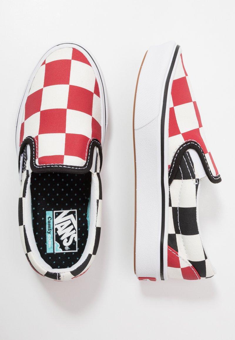 Vans - COMFYCUSH - Scarpe senza lacci - red/black